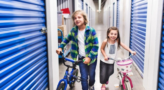 Storing with your kids