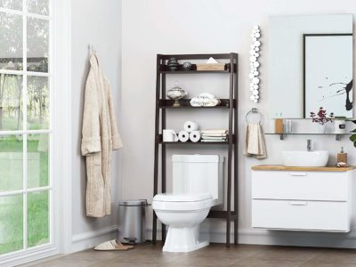 bathroom toilet storage
