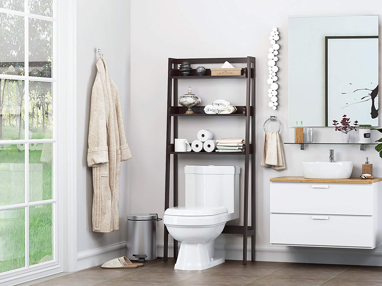 bathroom toilet storage