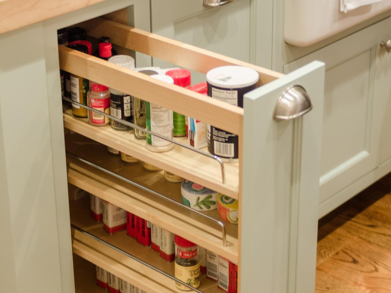 sliding drawers