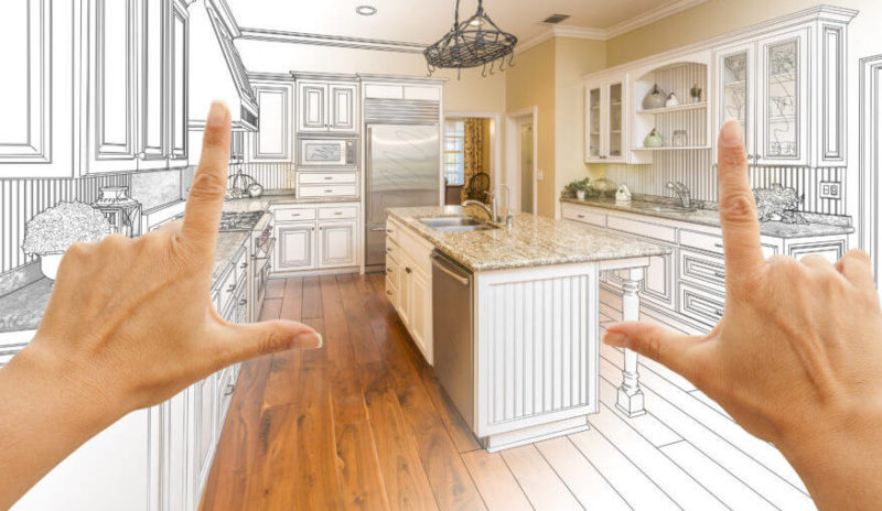 Kitchen renovation plan